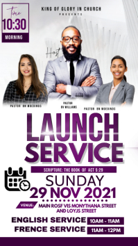 Launch service Instagram na Kuwento template