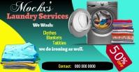 laundry Ibinahaging Larawan sa Facebook template