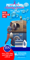 Laundry pullup services template
