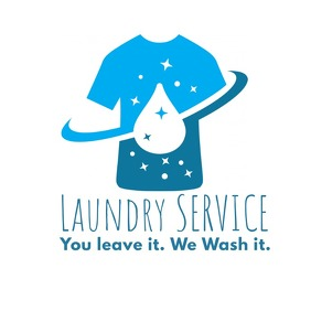 Laundry Service Business Logo Template