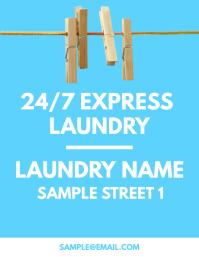 Laundry Service Flyer
