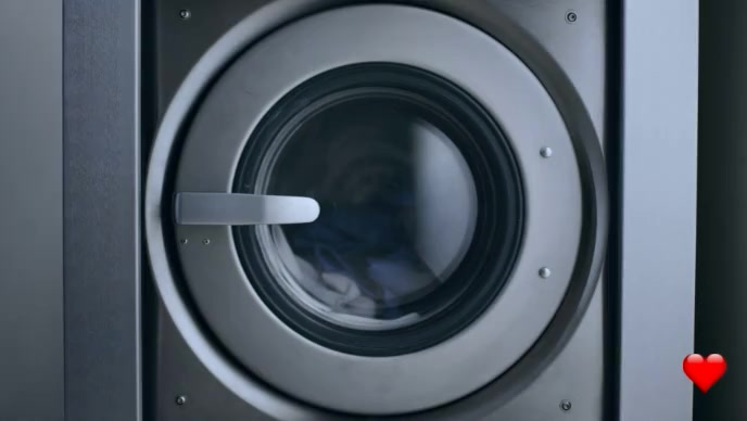 Laundry service video YouTube 缩略图 template