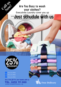 Laundry services A1 template