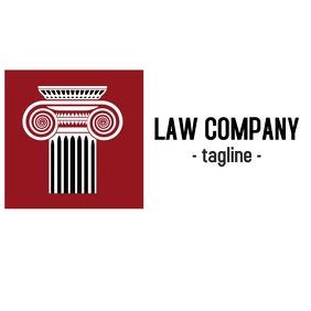 law company logo or app icon