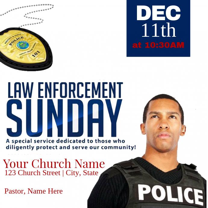 Law Enforcement Sunday