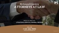 Law Firm 1:1 Video Template Digital Display (16:9)