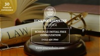 Law Firm Digitale Vertoning (16:9) template