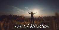 Law of attraction ad design Iklan Facebook template