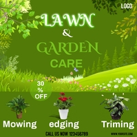 Lawn and Garden Square (1:1) template