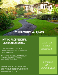 LAWN AND GARDEN FLYER