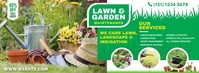 Lawn and Landscaping Foto Sampul Facebook template