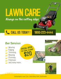 Lawn and Landscaping Services Flyer