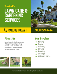 Lawn Care & Garden Landscaping Services