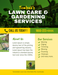 Lawn care & gardening landscape services