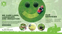 Lawn Care & Gardening Services template