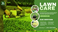 Lawn Care & Gardening Services โพสต์บน Twitter template
