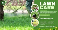 Lawn Care & Gardening Services Ibinahaging Larawan sa Facebook template