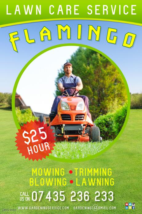 lawn care centre flyer