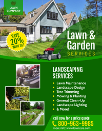 LAWN CARE Flyer (US Letter) template