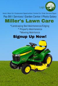 Lawn Care Service Website Template