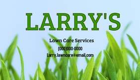 lawn care services Business Card template