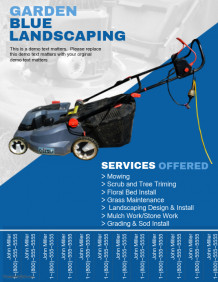 Lawn Moving Service