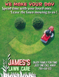 view template - Lawn Care Flyer Template Free