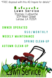 Lawn Service Flyer Templates | PosterMyWall