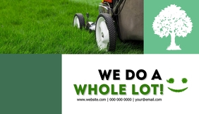 Lawn Service Company Business Card template
