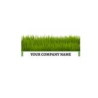 lawn service Logo template