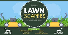 Lawn Service Facebook Shared Image template