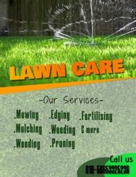 Lawn Service Flyer