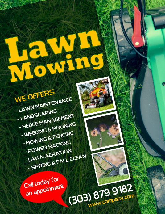 Customize 480 Lawn Service Flyer Templates Postermywall