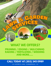 lawn services flyer