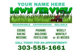 Lawn service flyer templates postermywall lawn service spiritdancerdesigns Image collections