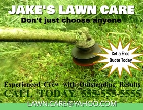 lawn service small business landscaping