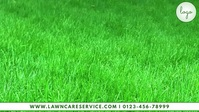 Lawn Service Template Facebook Cover Video (16:9)