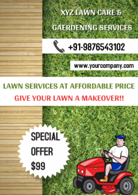Lawn Service Template Design