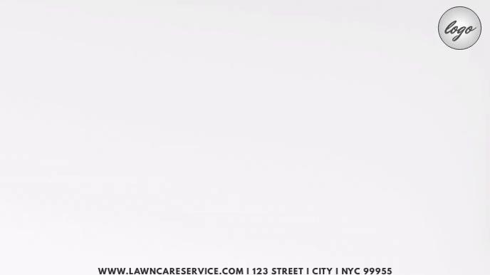 Lawn Service Template Ekran reklamowy (16:9)