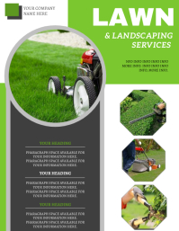 Lawn Services Flyer ad Template