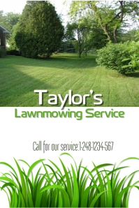 Lawnmowing service