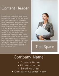 Lawyer / Business Flyer Template