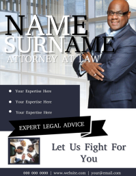 Lawyer Flyer Template