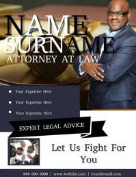 Lawyer Flyer VIDEO DIGITAL Template
