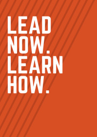 lead Now Learn How A4 template
