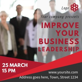 Leadership Training Event Video template