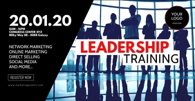 Leadership Training Workshop Seminar Network Iklan Facebook template