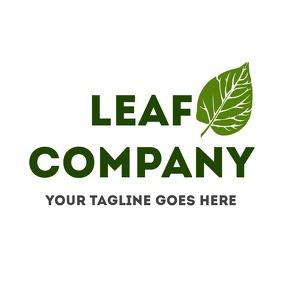 Leaf eco - bio logo