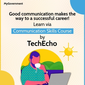 Learn Communication Skill Online Template