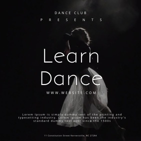 Learn Dance Poster